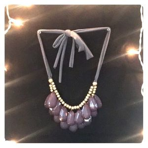 Jewelry - Grey and Gold Statement Necklace